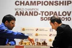 Anand draws again, scores remain level after penultimate round