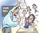 Invigilator turned cheating agent
