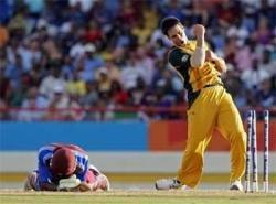 Australia knock Windies out, set up semifinal clash with Pak