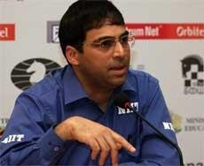 Anand relieved after ending 'black' jinx against Topalov