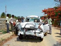 Eight of a family die in road accident
