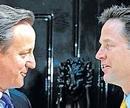 UK enters coalition era