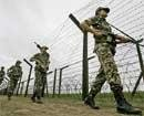 Ultras attempt to blow up fencing along the border in JK