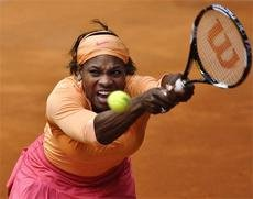 Serena Williams knocked out of Madrid Masters