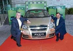 GM India rolls out CNG Aveo