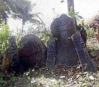Historic stones found in Hangal