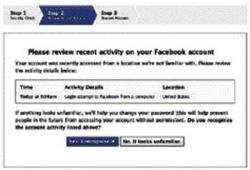 Facebook rolls out new security features