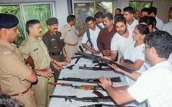 Civilian rifle training begins