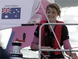 Australian girl sailor crosses round-the-world finish line