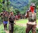 Maoists blast rail track, torch diesel tankers on goods train in Bihar