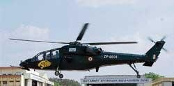 Combat chopper to be dedicated on May 23