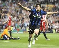 Milito ends Inter's long wait