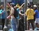 Massive cleanup launched in Bangkok, curfew extended