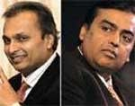 Reliance stocks up after Ambani brothers call truce