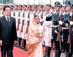 President Patil seeks China's support for UNSC seat
