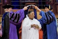 Mata Amritanandamayi Devi conferred honorary doctorate