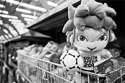 South Africa pushes to make World Cup its own