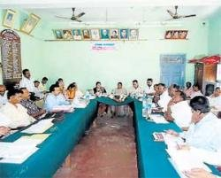 Meet held to sanction Rs 15 cr action plan to taluks