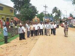 'N R Pura footpath work to begin within 1 week'