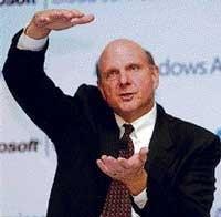 Microsoft shrugs off Apple ascendency