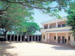 Masti school bereft of building, staff