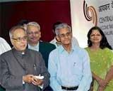 Pranab dedicates I-T returns data centre to the nation