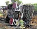 30 killed in bus accident