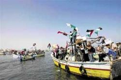 Aid convoy set for Gaza sail in troubled waters