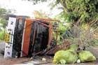 12 injured in three separate accidents
