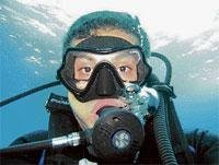 Scuba diving catches up  in City