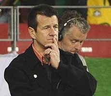 Brazil sack Dunga, players face angry backlash