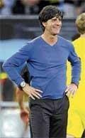Superstition forces Loew to sweat it out, literally