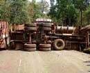 Ore-laden trucks turn highways into 'accident zones'