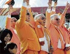 Oranje glow brightens up Cape Town