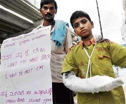 Free treatment for Bidar boy