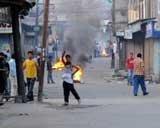Home Secretary visits tense Kashmir valley