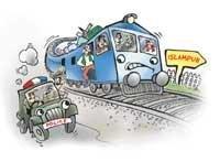 Angry passengers hijack train to Islampur