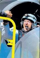 Solar plane completes historic flight