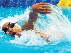 Akshay wins 400 freestyle