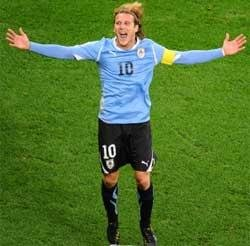 Forlan named best player at World Cup