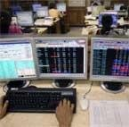 Sensex crosses 18k mark, ends 104 points higher