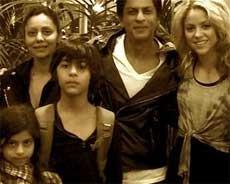 Shakira was so nice to my kids: Shah Rukh Khan