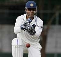 Three centuries sink India on opening day of warm up game