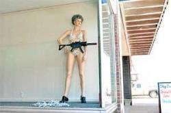 Row over mannequin's wardrobe malfunction
