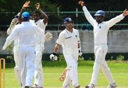 Mendis blows away strong India batting