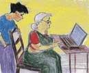 Grandma and the 'Goolgle!'