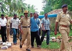Naxal leader produced in court