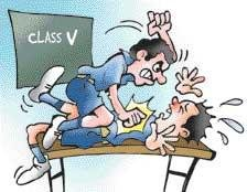 Monitor 'kills' classmate to enforce discipline