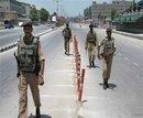Kashmir under curfew again