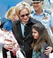 Hillary in Pak on key mission